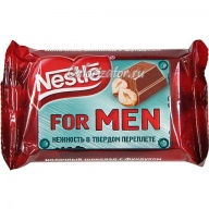 Шоколад Nestle for Men с фундуком