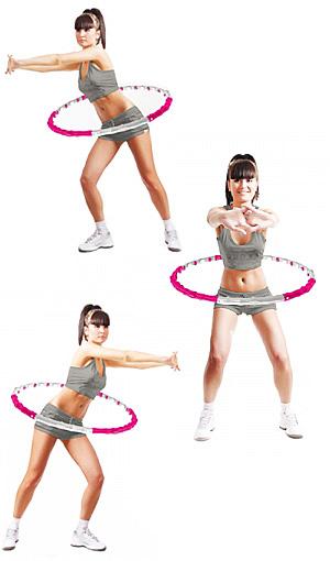 обруч для похудения талии живот
