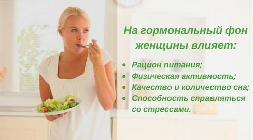 Влияние диет на гормональный фон