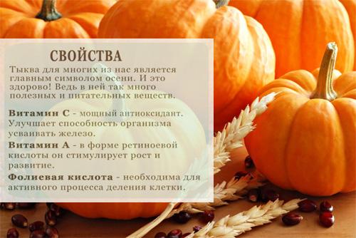 Польза и вред запеченной тыквы, калорийность, рецепты приготовления с фото