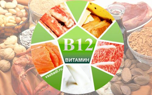 Пищевые источники витамина В12